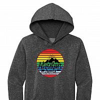 2021 GES Mountain Logo - Hoodie - Heather Charcoal